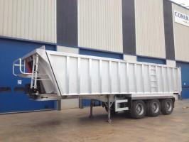 TISVOL używana wywrotka aluminiowa 33 m3