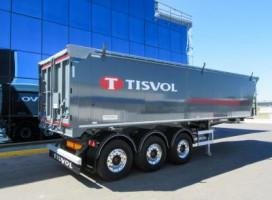 TISVOL V=42 m3 -5270 kg – DAJEMY 5 LAT GWARANCJI na naczepy aluminiowe !!!