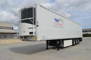 TMT ruchoma podłoga z chłodnią na specjalne zamówienie klienta